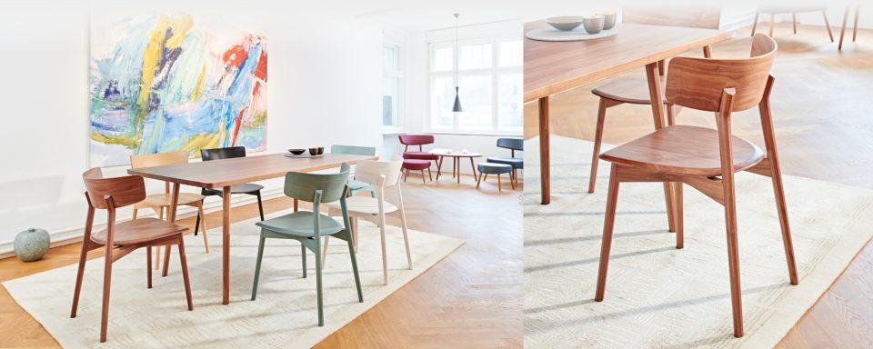 Marlon solid wood chair - Alexander Rehn - 2018