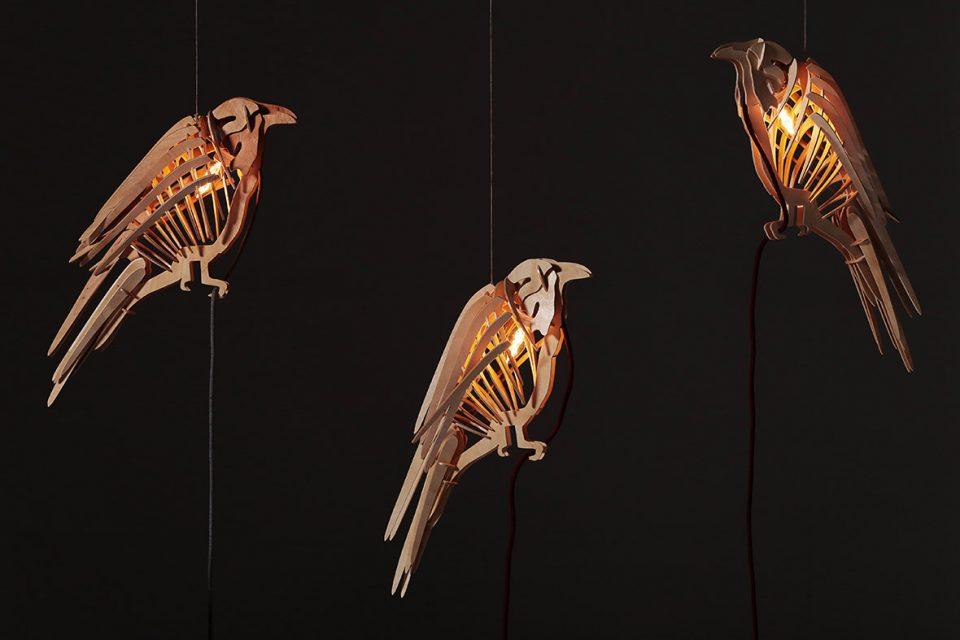 Raven Hanging Lamp - 2019 - Svarog